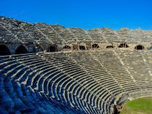 Античный театр в Сиде общая информация