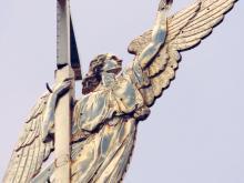 Колокольня Петропавловского собора Санкт-Петербурга