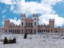 Дворец Пусловских - Коссовский замок фото история легенды замка в Коссово Беларусь