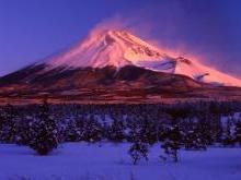Гора Фудзияма Япония