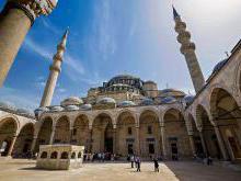 Мечеть Сулеймание Стамбул фото история мечети султана Сулеймана Великолепного в Стамбуле