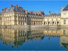Дворец Фонтенбло Франция