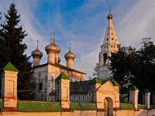 Храм Иоанна Богослова Кострома