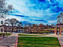 Лошицкий парк в Минске фото история легенды