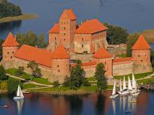 Тракайский замок Литва и Грюнвальдская битва