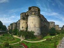 Анжерский замок Анжер Франция