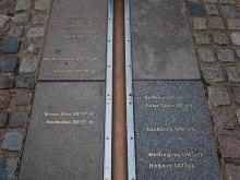 Нулевой меридиан в Лондоне