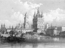 Второй (каменный) Успенский собор Астрахани