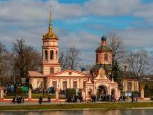 Крестовоздвиженский храм в Алтуфьево Москва