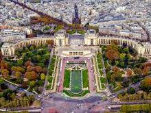 Дворец Шайо в Париже (Palais de Chaillot) - Округ 7 - квартал Трокадеро