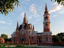 Вешаловка церковь Знамения Липецкая область