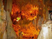 Геология пещеры Дамлаташ Турция