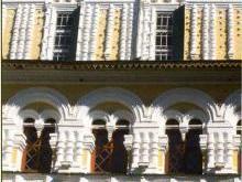 Декоративное убранство фасадов Воскресенского собора Тутаева