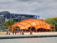 Выставочный центр Гранд-аль в парке Ла Валетт