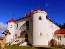 Дом-крепость Нонхартов Гайтюнишки (1613г) расположение на карте как добраться