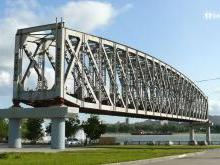 Памятник железнодорожному мосту Новосибирск
