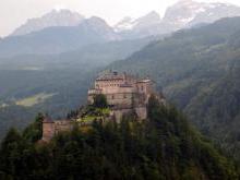 Замок Хоэнверфен Австрия
