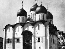 Страсти во время освящения Успенского собора