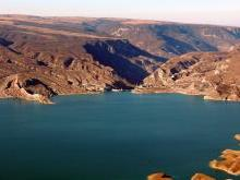 Чиркейское водохранилище и Чиркейская ГЭС