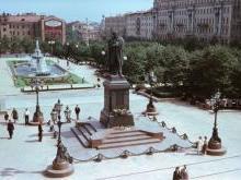 Пушкинская площадь Москва