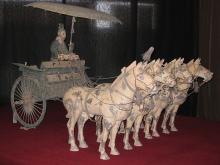 Китай, династия Цинь 221–206 гг. до н.э. Объединение Китая