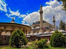 История города Конья в Турции
