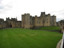 Замок Алник Нортумберленд Англия - Замок Гарри Поттера