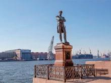 Памятник Крузенштерну Санкт-Петербург