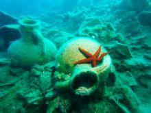 Кекова что можно увидеть под водой