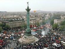 Площадь Бастилии в Париже (Place de la Bastille)
