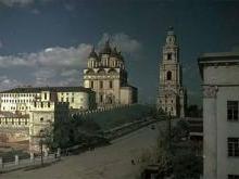 Успенский собор Астрахани после революции 1917 года