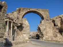 Древний город Аспендос Турция расположение на карте как добраться самостоятельно