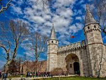 Дворец Топкапы Стамбул в переводе дворец «Пушечные ворота»