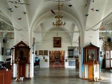 Интерьер Успенской Адмиралтейской церкви Воронежа