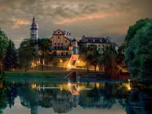 Несвижский замок - Ботанический памятник природы