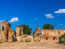 На фото руины Гольшанского замка