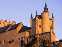 Замок Алькасар Испания Сеговия