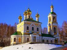 Воскресенский храм Плёс