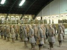 Терракотовая армия в Сиане - Глиняная армия Цинь Шихуанди