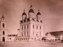 Успенский собор Астрахани после Великой Отечественной войны