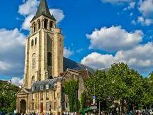 Церковь Сен-Жермен-де-Пре в Париже (фр. Saint-Germain-des-Prés)