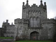 Замок Килкенни в Ирландии Англия