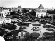 Площадь Минина и Пожарского бывшая Благовещенская площадь Нижний Новгород