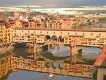 Мост Понте-Веккьо Флоренция