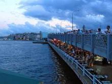 Галатский мост Стамбул