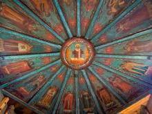 «Небо» Успенской церкви Кондопоги