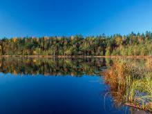Бездонка - лесное озеро без дна
