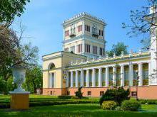 Фото дворца Румянцевых-Паскевичей в Гомеле