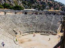 Амфитеатр в Мире (Демре) Турция фото история экскурсия Демре-Мира-Кекова