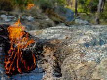 Огненная гора Янарташ Кемер Турция